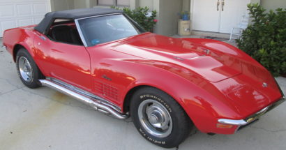 1970 Corvette Convertible 454  4 Speed           $27900.00