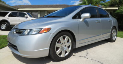 2008 Honda Civic LX             $7300.00