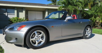 2001 Honda S2000 Roadster! Just 55k Miles!       $16500.00