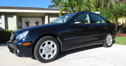 2005 Mercedes Benz C320 4matic Sedan.  Low Miles! Dealer Serviced From New!    $6850.00